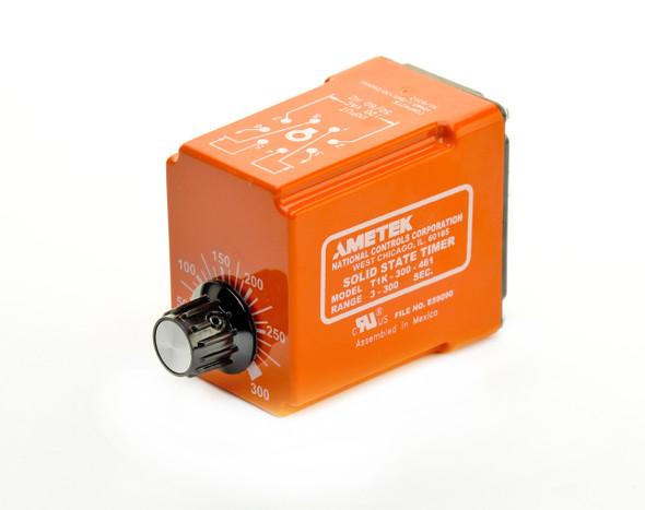 Industrial Time Delay Relay, Delay on Make, T1 Series