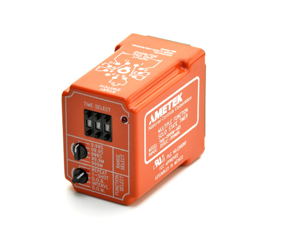 Industrial Time Delay Relay, Multi-Time Range/Function, TMM Series