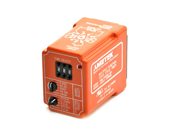 Industrial Time Delay Relay, Multi-Range/Function TMM Series