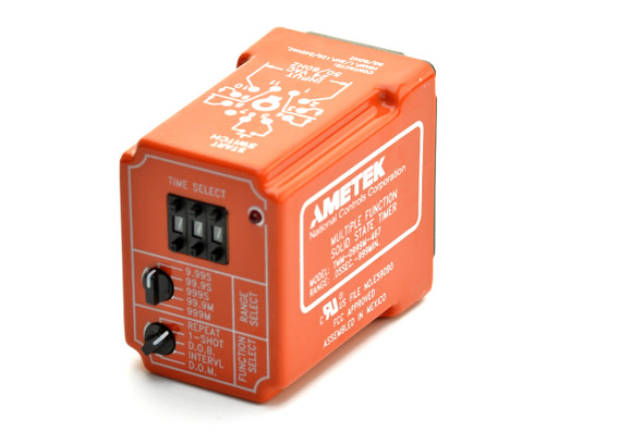 Industrial Time Delay Relay, Multi-Time Range/Function TMM Series