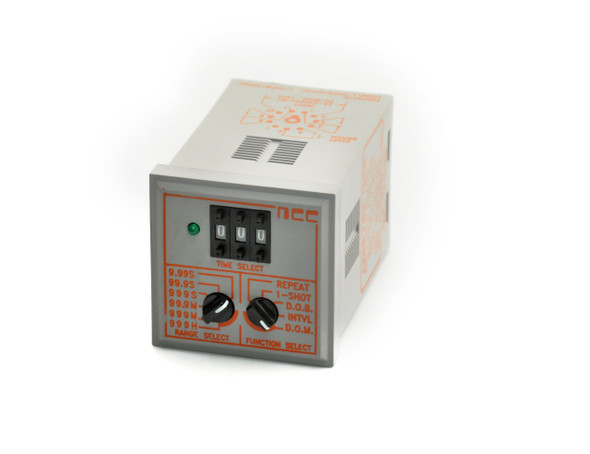 Industrial Time Delay Relay, Multi Time Range, TMM Series