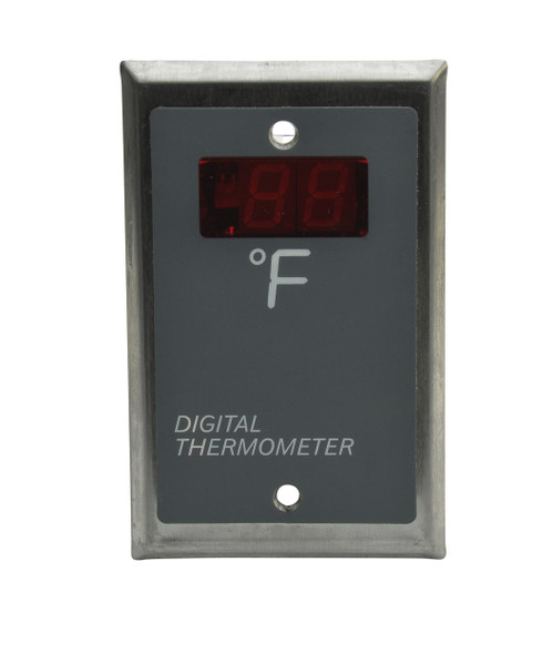 Industrial Digital Temperature Indicator, Thermometer, Model TM200 Series