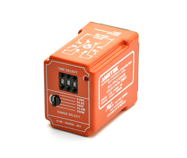 Time Delay Relay, Multi-Time Range Delay on Make, A1M Series