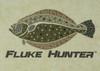 444 Sportswear Sand Bottom Fluke Hunter UPF 50+ Performance Shirt Detail