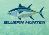 Green Marine Bluefin Hunter UPF 50+ Performance Shirt Detail USA fly fishing stores near me