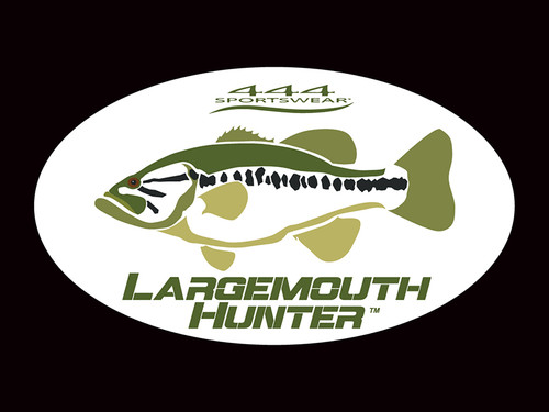Largemouth Hunter Logo Decal