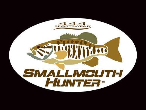 Smallmouth Hunter Logo Decal