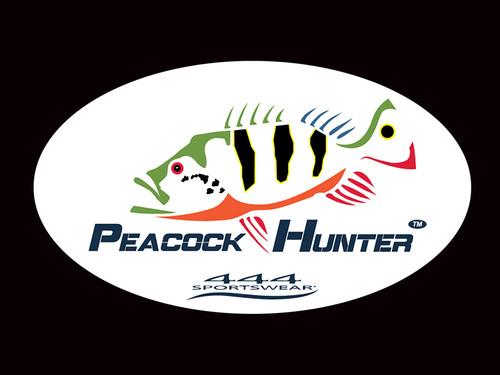 Peacock Hunter Logo Decal