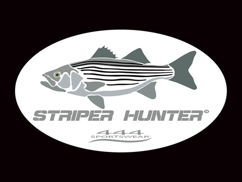 Striper Hunter Logo Decal