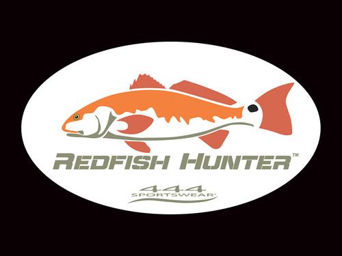 Redfish Hunter Logo Decal