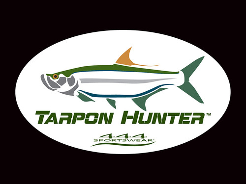 Tarpon Hunter Logo Decal
