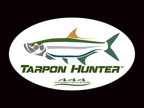 Tarpon Hunter Logo Decal