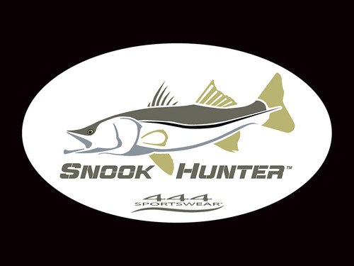 Snook Hunter Logo Decal
