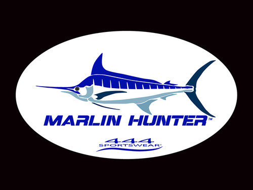 Marlin Hunter Logo Decal