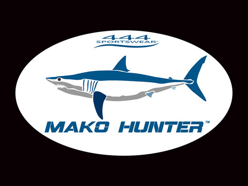 Mako Hunter Logo Sticker