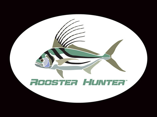 Rooster Hunter Logo Decal