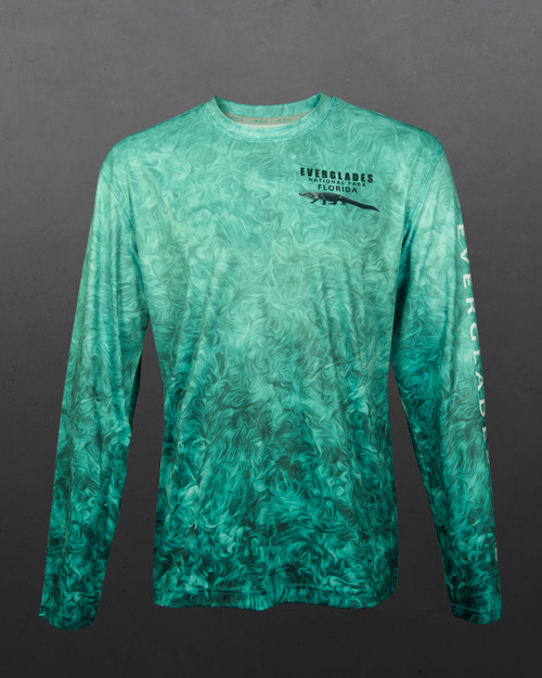 Everglades 50+ UPF Long Sleeve Performance Shirt - Men's