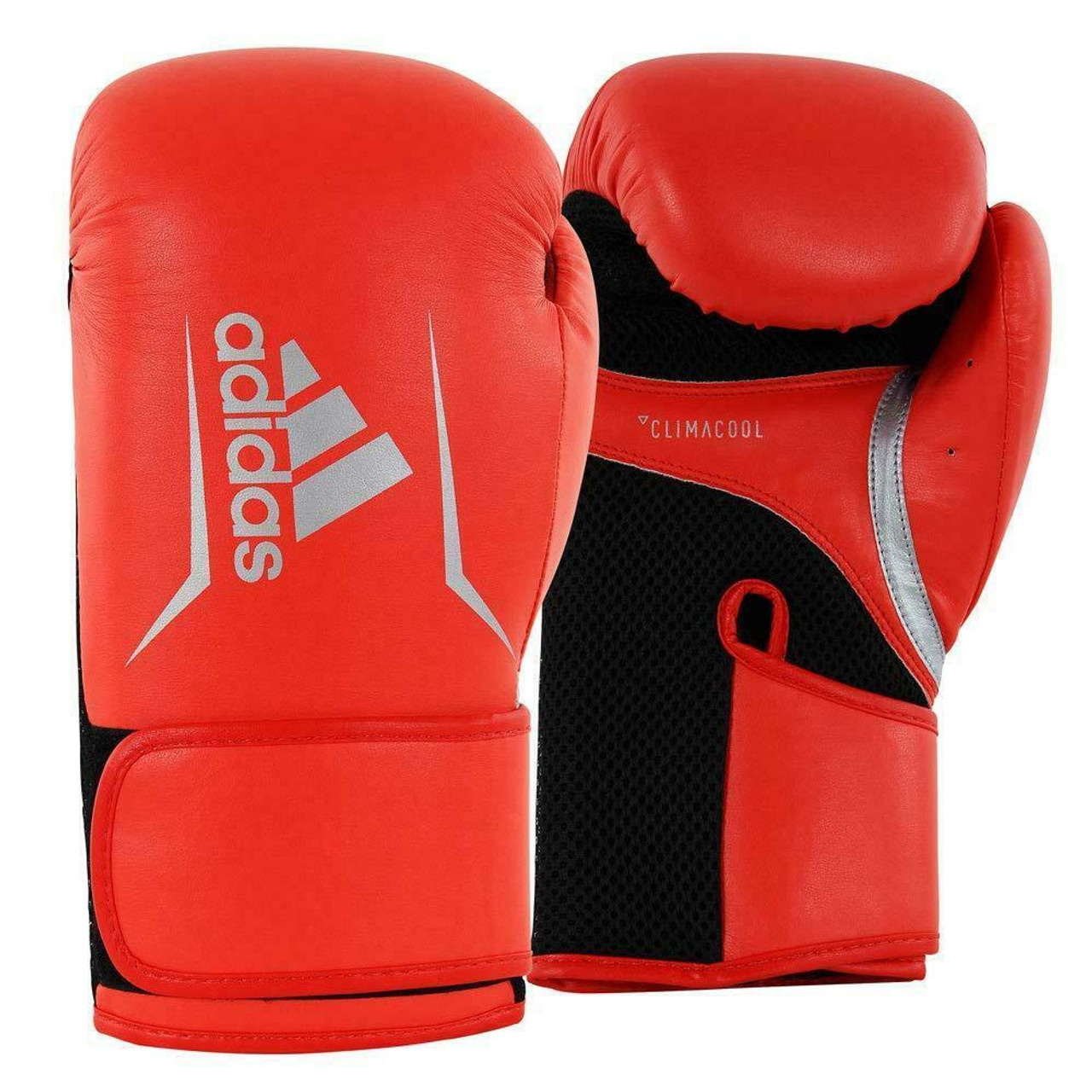 Adidas Hybrid 50 Boxing Training Gloves MMA Black//Red In 12oz or 16oz
