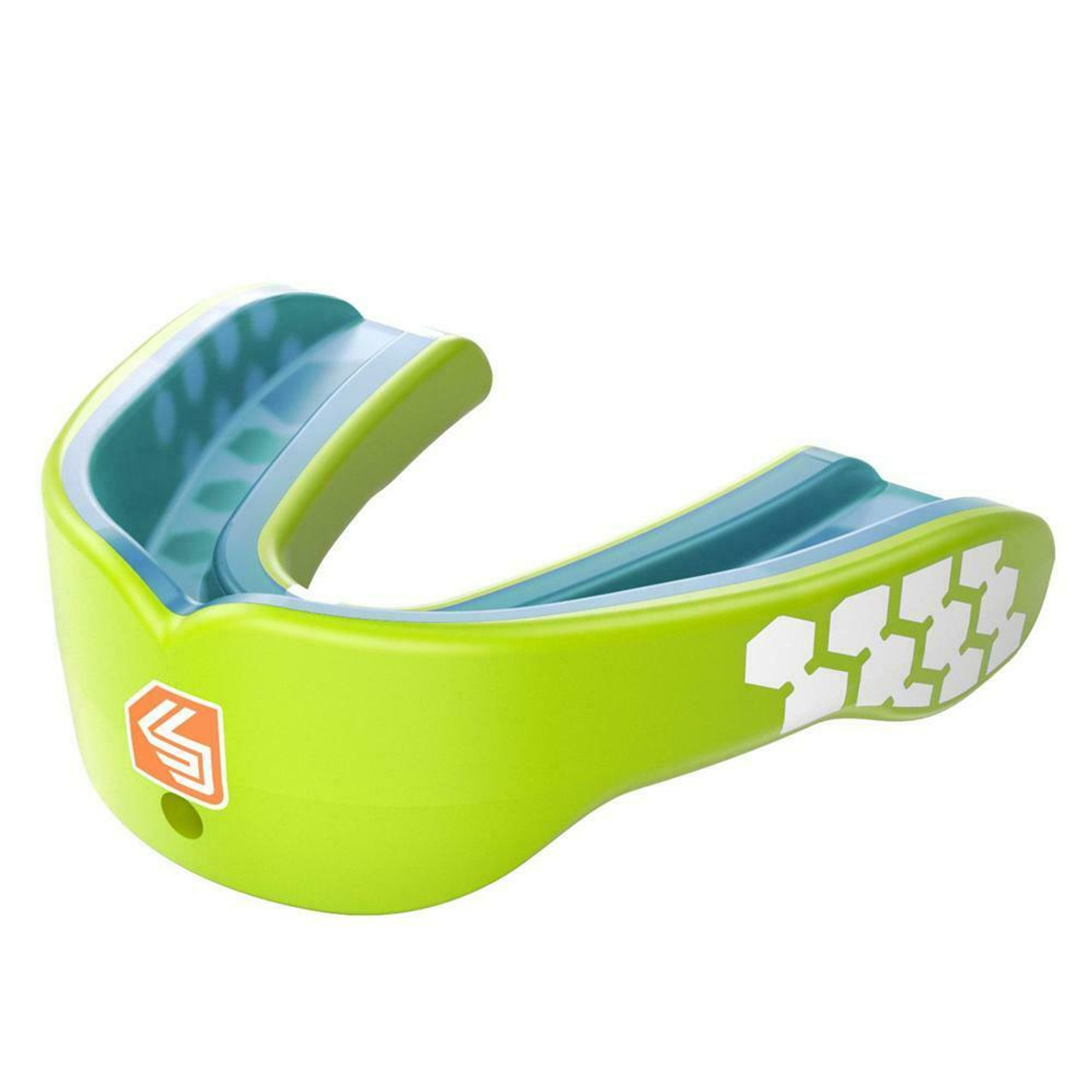 """Blue Shock Doctor /""""Gel Max/"""" Strapless Adult Mouth Guard Adult Age 11"""