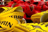Have you ever wondered how how Sherrin footballs are made??
