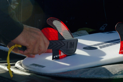 Don't Slice Your Hands Apart Pulling Out Your FCSII Fins - Use The All New Fin Puller