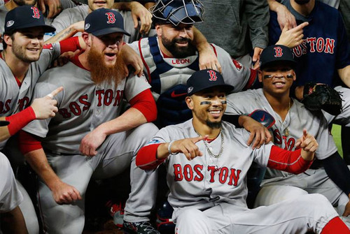 Boston Red Sox World Series 2018 champions win Game 5 over Los Angeles Dodgers 5-1 to claim series 4-1