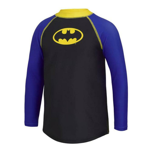 SALE Zoggs Kids Batman Long Sleeve Sun Top in Black and Blue