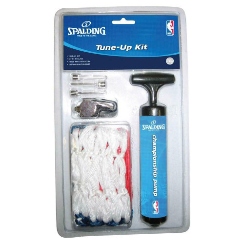 Tune Up Kit - Includes: Net, Pump, Whistle & Inflation Needles From Spalding