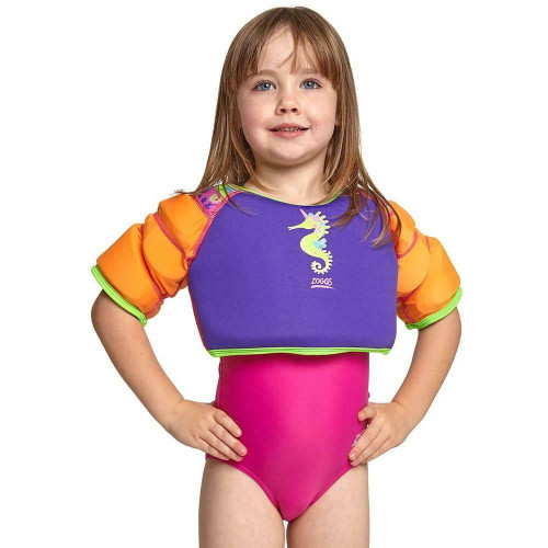 Zoggs Sea Unicorn Water Wings for Confidence Building in Purple