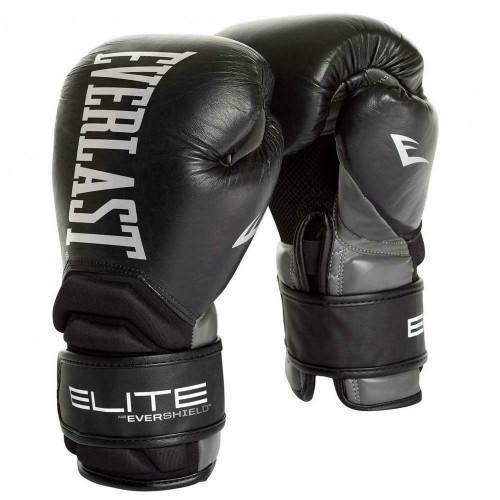 Everlast 12oz Contender Elite Leather Boxing Glove - MMA & Boxing Training