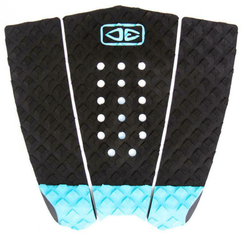 Ocean And Earth Hybrid Traction Surfboard Grip Simple Jack Tail Pad Black/Blue