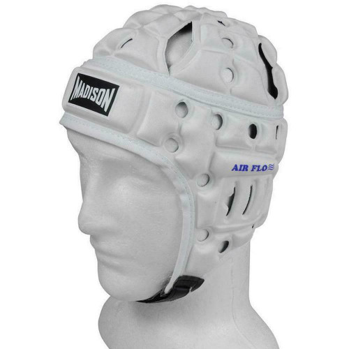 Air Flo Football Medium 56cm Headguard in White from Madison