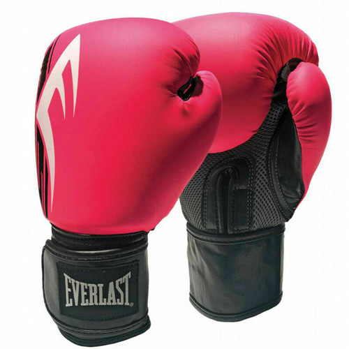 Everlast 10oz. Pro Style Power Training Boxing Gloves in Pink/Black