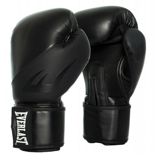 Everlast 12oz. EX Training Boxing Gloves in Black On Black