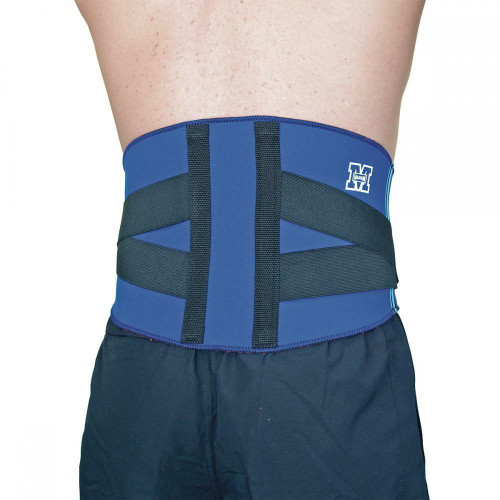 Madison First Aid Heat Therapy and Injury Support Back Adjustable Support In Small