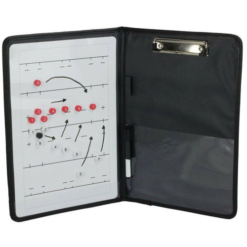 Gilbert Rugby Coaching Folder - Whiteboard & Marker Included