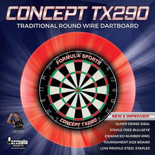 Formula Sports Concept TX290 Traditional Round Wire Dartboard