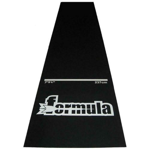Formula Sports Heavy Duty Rubber Dart Mat In Black