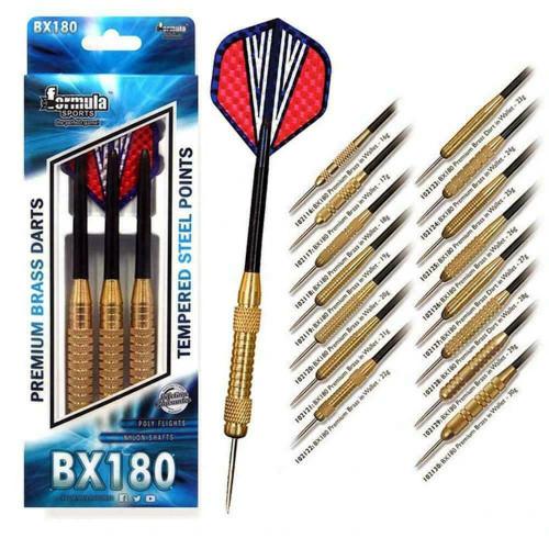 Formula Darts BX180 Set 3 Darts Light to heavy weights 16 to 30 Grams
