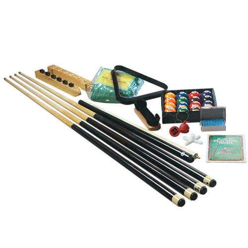 Formula Sports Pool Table Accessory Kit - Pool Cues, Balls & More