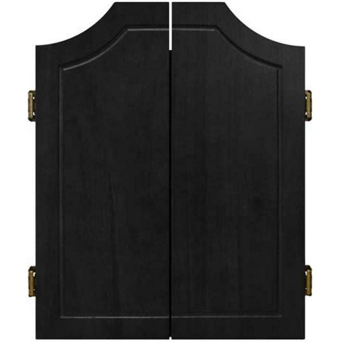 Formula Sports Classic Solid Wood Dartboard Cabinet In Black