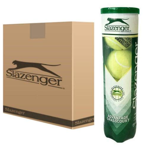 Slazenger Advantage Grass Court Tennis Balls - 18  x 4-Ball Can Bundle