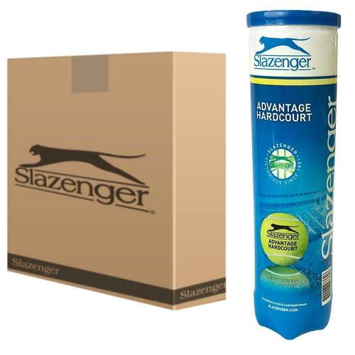Slazenger Advantage Hardcourt Tennis Balls - 18 x 4-Ball Can Bundle