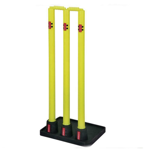Gray Nicolls Beach Cricket - Plastic Stumps With Rubber Base