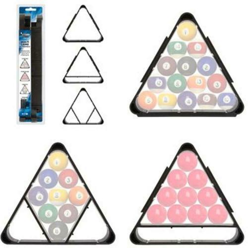"Formula Sports 2"" Pool/Snooker Balls Multi Game Triangle"