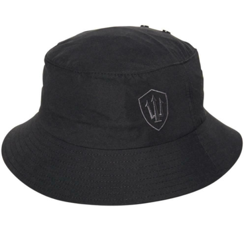 Adult Far King H20 Soft Peak Surfing Surf Bucket Hat Medium In Black
