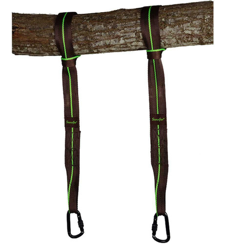 "SWURFER Heavy Duty 60"" Hanging Straps For Tree Swings Tensile Strength 3265Kg"