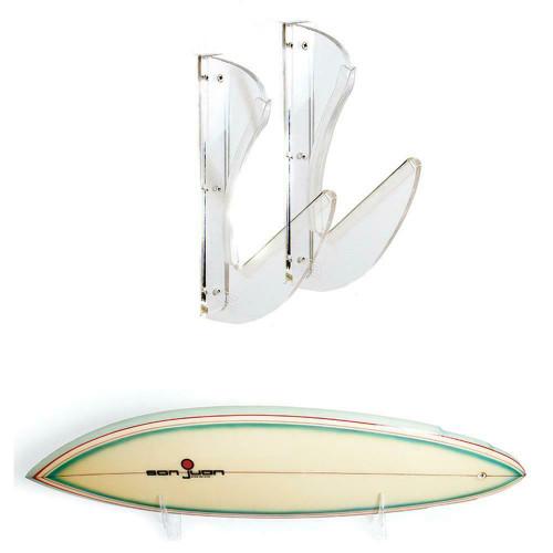 Ocean & Earth invisible Horizontal Surfboard Wall Display Rack