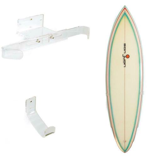 Ocean & Earth invisible Vertical Surfboard Wall Display Rack