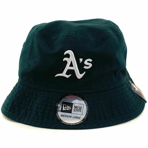 Oakland Athletics New Era NFL Team Bucket Hat Small/Medium - Green